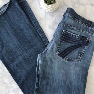 7 for All Mankind Dojo Jeans 30x32